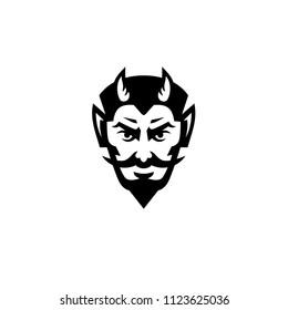 Devil Head Logo