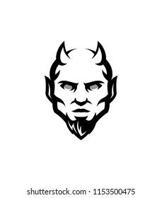 devil logo sports mascot