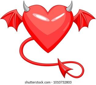 devil heart images stock photos vectors shutterstock
