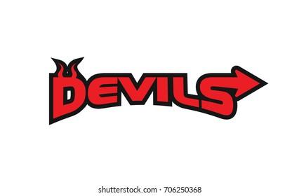 Devils Logo Letter