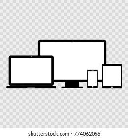 Devises icon set