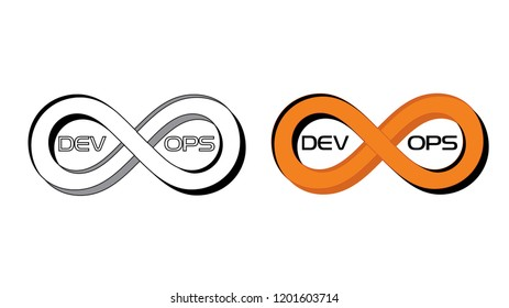 Devops logo. Vector.