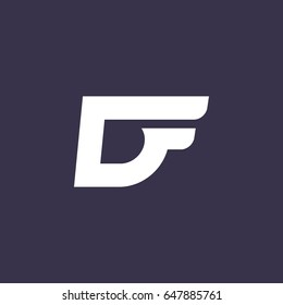 DF initial logo