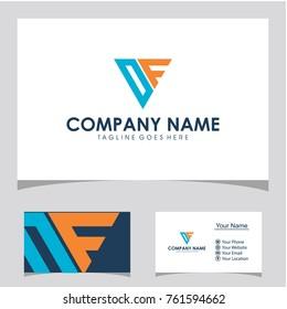 Df initial logo design