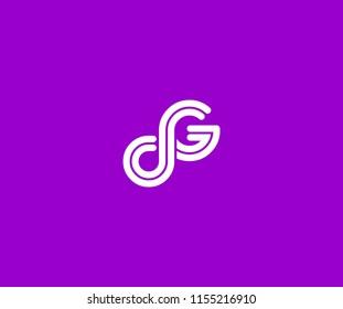 DG Line Linked Monogram Tech Logotype