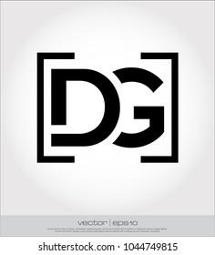 DG logo template
