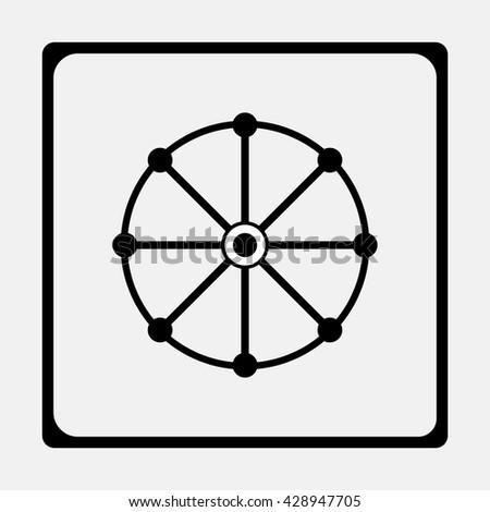 Dharma Chakra Wheel Dharma Symbol