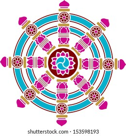 Dharma Wheel, Dharmachakra, Spirituality, Buddhism