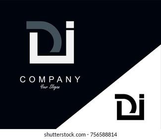 DI Letter Logo Design Template