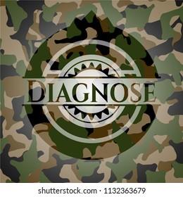 Diagnose camouflaged emblem
