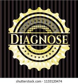Diagnose gold emblem or badge