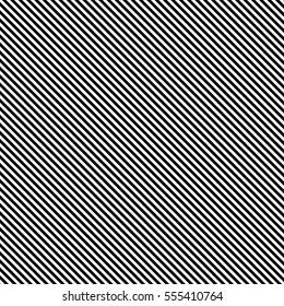 Diagonal black stripes on white background
