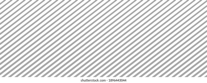 Diagonal lines gray white background, pattern with dashes. Seamless texture - stock vector