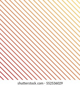 Diagonal lines pattern. Geometrical simple image illustration. Creative, luxury gradient style. Print label, banner, cover, card, website, web, wrapper, wrap. Summer, winter, spring, fall, autumn time