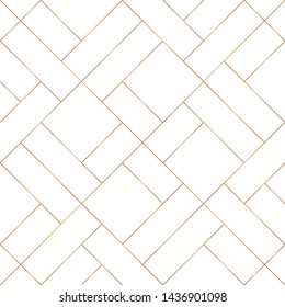 Diagonal of random line pattern vector. Design mondrian style light gold on white background. Design print for textile, wallpaper, tile, texture, element, background. Set 1