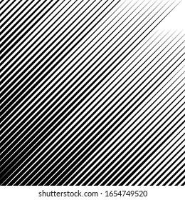 Diagonal stripes ornate. Lines pattern. Striped image. Linear background. Strokes ornament. Abstract wallpaper. Modern halftone backdrop. Digital paper, web design, textile print. Vector art.