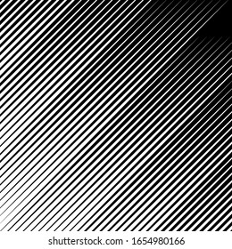 Diagonal stripes ornate. Lines pattern. Striped image. Linear background. Strokes ornament. Abstract wallpaper. Modern halftone backdrop. Digital paper, web design, textile print. Vector work.