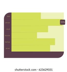 Diagram Chart Stacked Bar