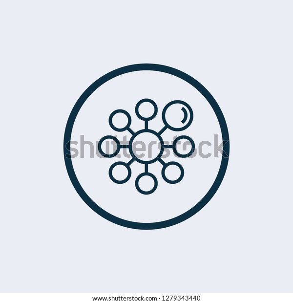 Diagram, Graphs, Chart. Simple Related Vector Icons Set for Video, Mobile Apps, Web Sites, Print Projects and Your Design. Diagram, Graphs, Chart icon Black Flat Illustration on White Background. - Ve