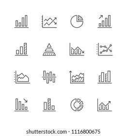 Diagram line icons.