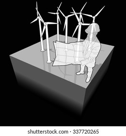 Astounding Wind Turbine Model Images Stock Photos Vectors Shutterstock Wiring Cloud Cosmuggs Outletorg