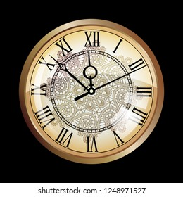dial, vintage watches. new year's eve