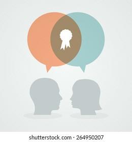 Dialog about success