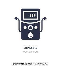 dialysis icon on white background. Simple element illustration from Technology concept. dialysis sign icon symbol design.