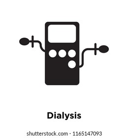 Dialysis icon vector isolated on white background, Dialysis transparent sign , medical health symbols