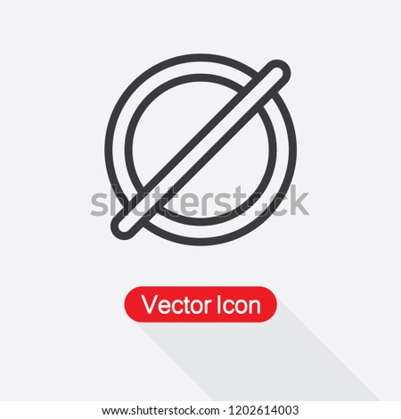 Diameter Icon Vector Illustration Eps 10 Stock Vector (Royalty Free