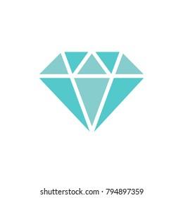 diamond crystal  icon