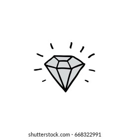 diamond drawing images stock photos vectors shutterstock https www shutterstock com image vector diamond doodle icon 668322991