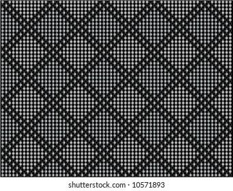 Diamond dot vector background 2