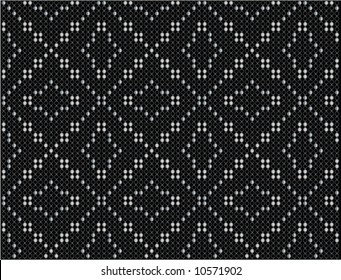 Diamond dot vector background 4