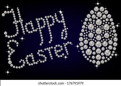 Diamond Easter Egg
