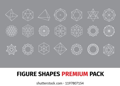 Diamond figure shapes