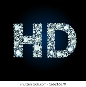 Diamond High definition Symbol