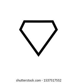 Diamond Icon Design Illustration Vector