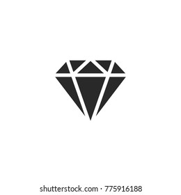 diamond icon. sign design