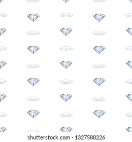 Diamond jewel graphic line pattern