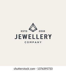 Diamond logo design concept. Universal diamond design.