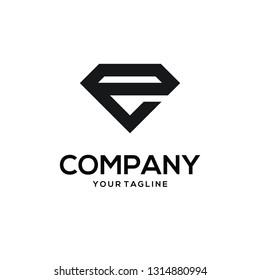 Diamond logo vector