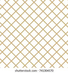 Diamond Pattern with white background