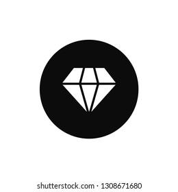Diamond rounded icon