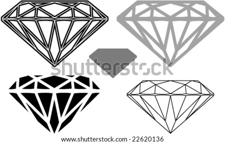 diamond shape cutting clipart stock vector royalty free 22620136