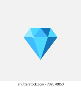 A diamond vector. With commercial concept.