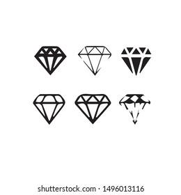 Diamond vector design with white background.