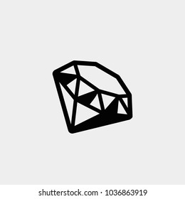 Diamond. Vector diamond. Diamond icon