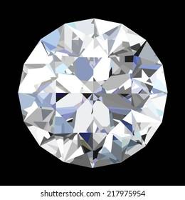 Diamond . vector illustration