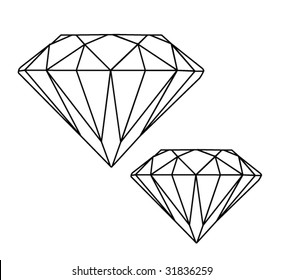 Diamond Outline Images Stock Photos Vectors Shutterstock Choose from over a million free vectors, clipart graphics, vector art images, design templates, and illustrations created by artists worldwide! https www shutterstock com image vector diamonds 31836259